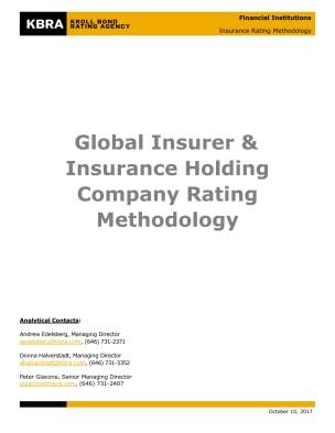 Global Insurer & Insurance Holding Company Rating Methodology