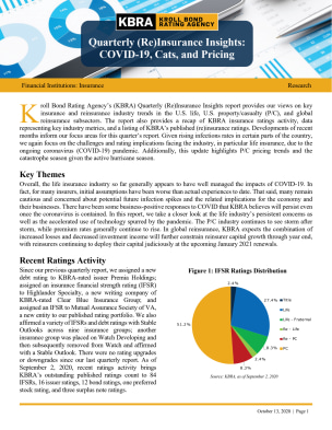 Quarterly (Re)Insurance Insights