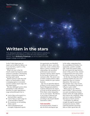 DOCOsoft   Written in the stars