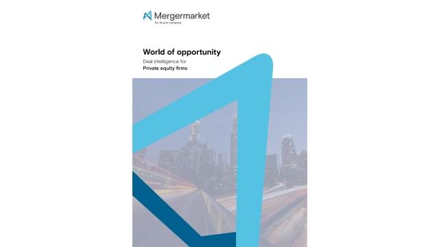 Mergermarket Benefits Brochure - Private Equity Firms EMEA