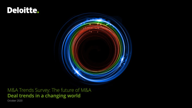 M&A Trends Survey: The future of M&A